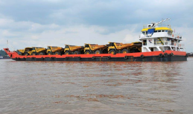 72m Bow Ramp LC Landing Craft 2012 - DWT 2500 For Sale