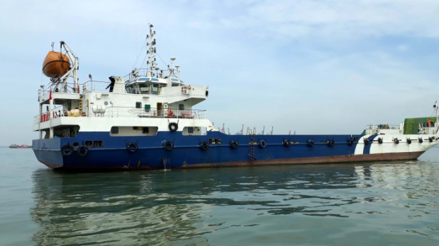 79m Bow Ramp LC Landing Craft 2011 - TEU 100 For Sale