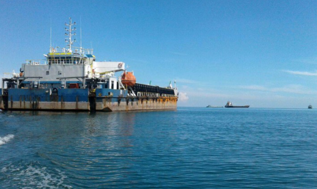 84m Self Propelled Barge 2003 - DWT 4500 For Sale