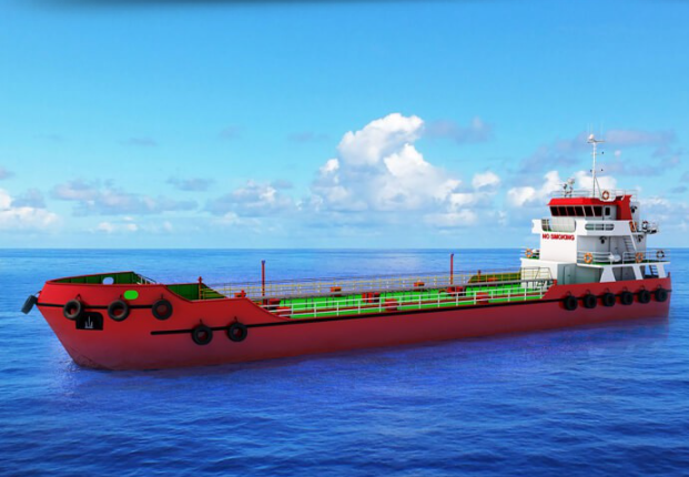 47m Double Bottom Self Propelled Oil Barge 2020 - Capacity 600 Cubes For Sale