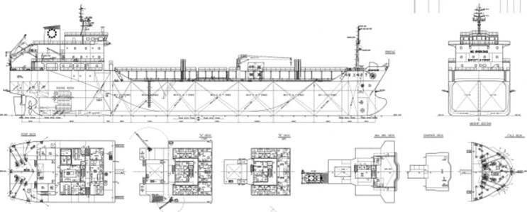 115m Chemical Tanker 8000 DWT IMO-2 Heated Coil For Sale