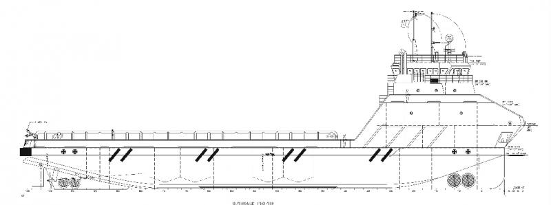 221' DP2 PSV Platform Supply Vessel 2016 - DWT 2286 For Charter