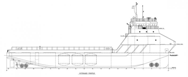201' DP2 PSV Platform Supply Vessel 2013 - DWT 2003 For Charter