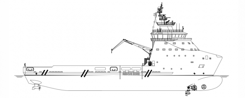 281' DP 2 PSV Platform Supply Vessel 2019 - DWT 4600 For Charter