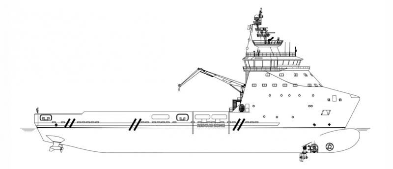 281' DP2 PSV Platform Supply Vessel 2019 - DWT 4600 For Charter