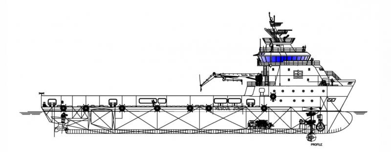 274' DP2 PSV Platform Supply Vessel 2020 - DWT 3857 For Charter