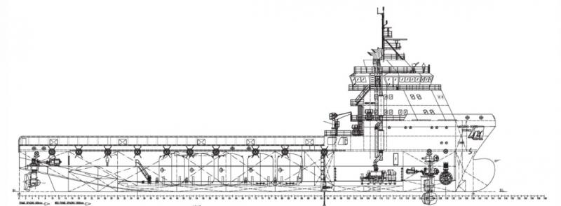 285' DP2 PSV Platform Supply Vessel 2012 - DWT 5122 For Charter