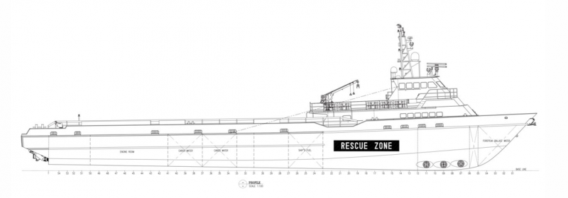 190' DP2 FSV Fast Support Vessel 2011 - DWT 474 For Charter
