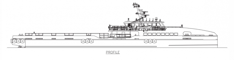 192' DP3 FSV Fast Support Vessel 2013 - DWT 195 For Charter