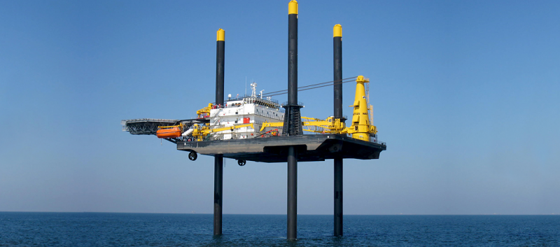 183' DP2 Lift Boat 2014 - Max Working Depth 278 Feet For Charter