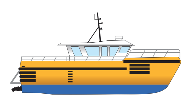 15m High Speed Personnel Transport Vessel - Max 25 knots For Charter