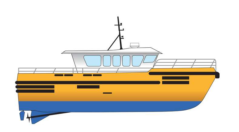 16m High Speed Personnel Transport Vessel - Max 27 Knots For Charter