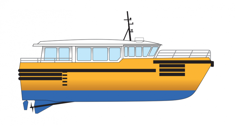 18m High Speed Personnel Transport Vessel - Max 28 Knots For Charter
