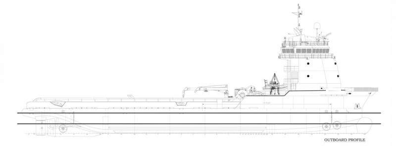 265' DP2 AHTS Anchor Handling Tug Supply 2007 - BP 120 For Charter
