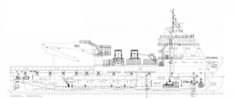 285' DP2 MPSV Multi Purpose Supply Vessel 2013 - ROV For Charter