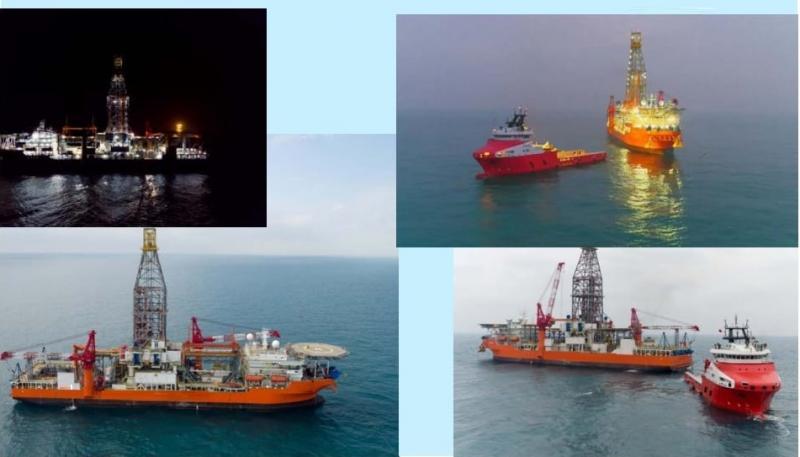 174m Deepwater Anchor Handler Drill Ship 2009 - Depth 30000 Feet For Sale