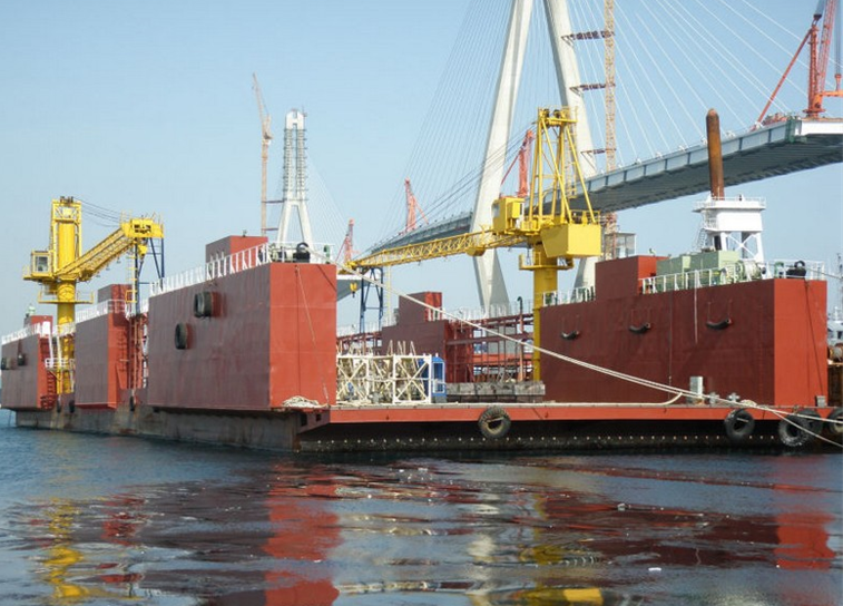 102m Floating Dry Dock 2006 - DWT 4500 For Sale