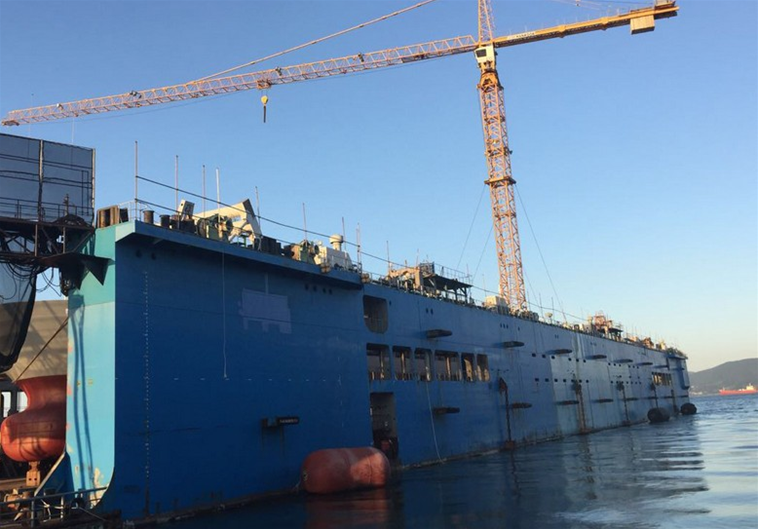 230m Floating Dry Dock 2006/2011 - DWT 30000 For Sale