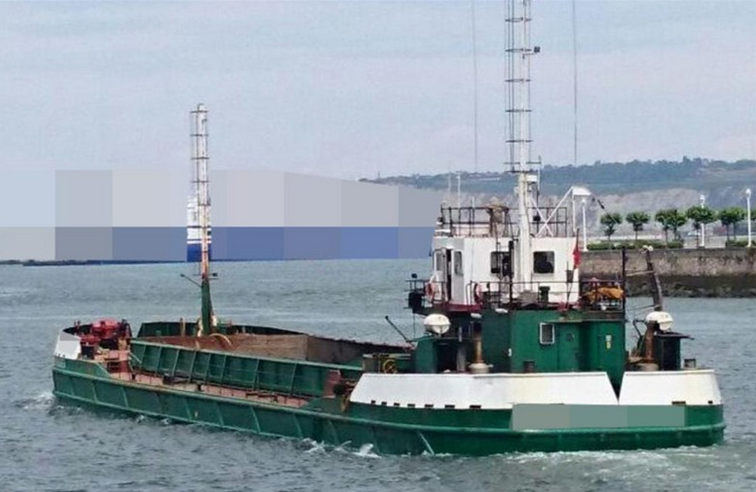 53m Self Propelled Split Hopper Barge 1977 - DWT 700 For Sale