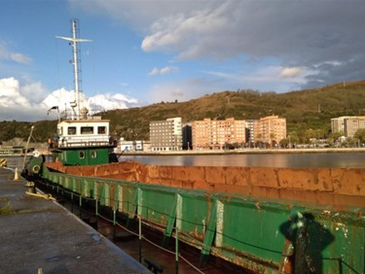 53m Self Propelled Split Hopper Barge 1977 - DWT 700 For Sale