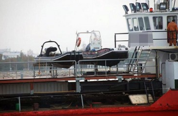 51m Drop Bottom Hopper Barge 125 Ton Crane - 550 m3 For Sale
