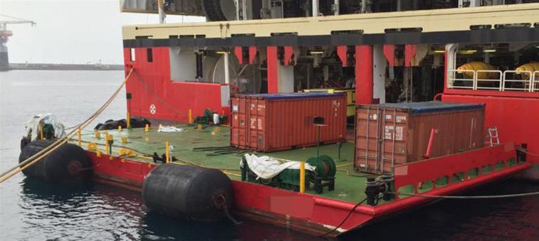 22m Flat Pontoon Deck Barge 2019 - DWT 140 For Sale