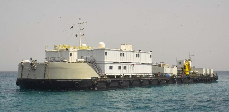 67m Accommodations Barge 2010 - Capacity 80 Personnel For Sale