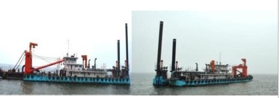 79m Cutter Suction Dredger 2000 - Suction Pipe 750mm - DWT 2000 For Sale