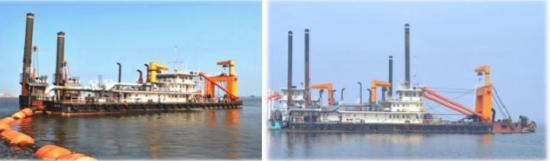 74m Cutter Suction Dredger 2012 - Discharge 2500m - DWT 1800 For Sale
