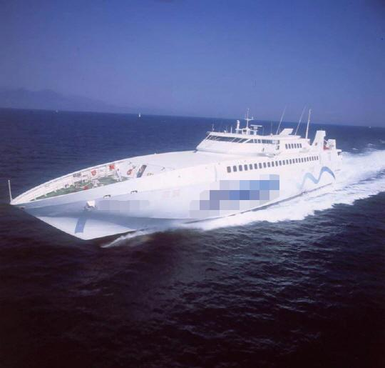 83m RORO Monohull Fast Car Ferry 2003 - 654 PAX 58 CARS - DWT 294 For Sale