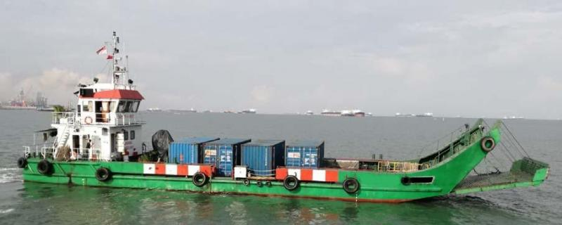 37m Cargo Landing Craft 1985 - Twin Engine - Deck 175 SQM - DWT 148 For Sale