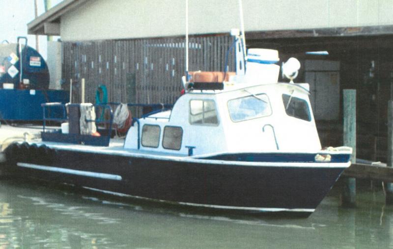 33' Inshore Work Boat Jo Boat For Sale