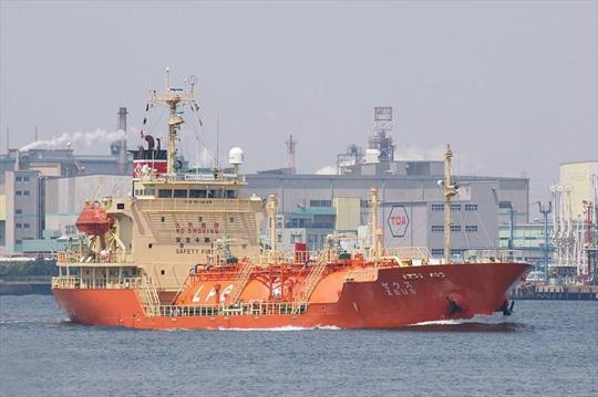 91m LPG Tanker 1998 - Pressurized - Japan Built - 2522 CBM - DWT 2645 For Sale