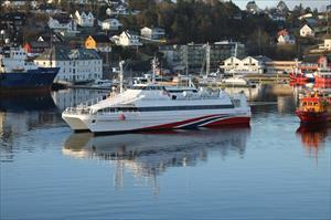 39m Catamaran High Speed Ferry 1986 - Norway Built - 195 PAX - DWT 400