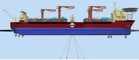 FPSO - SDP 32 - Floating Production Storage Oil For Sale