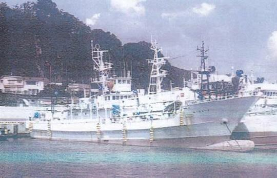 45m Fishing Vessel 1998 - Japan Built - Freezing Room 37 CBM For Sale