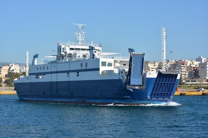 94m ROPAX Ferry 1989 - Double Ended -Closed Type - DWT 996 For Sale