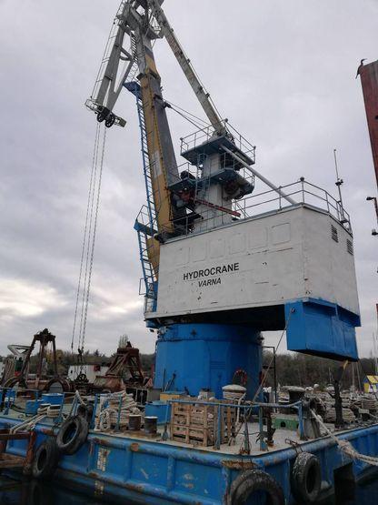 27m Floating Crane 1981 - Rebuilt 2008 - 10 TLC