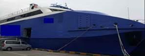 70m High Speed Catamaran Pax Car Ferry - 985 Passengers For Sale