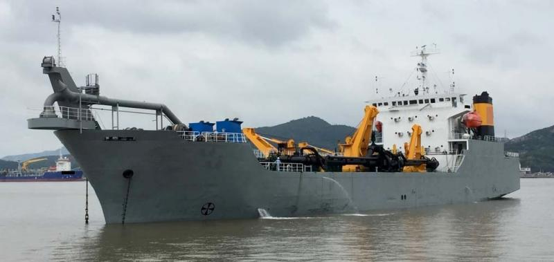 115m Trailing Suction Hopper Dredger - 7000 CBM For Sale