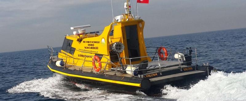 12m HDPE Patrol Boat IZ 1200