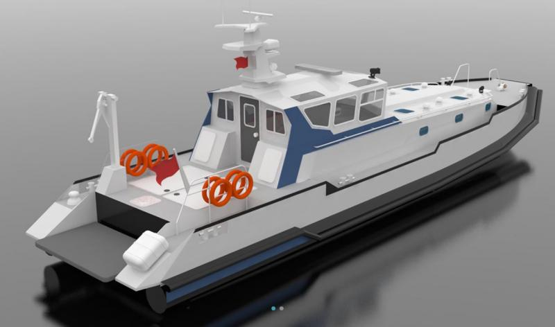 HDPE PATROL BOAT IZ 1980 for SALE