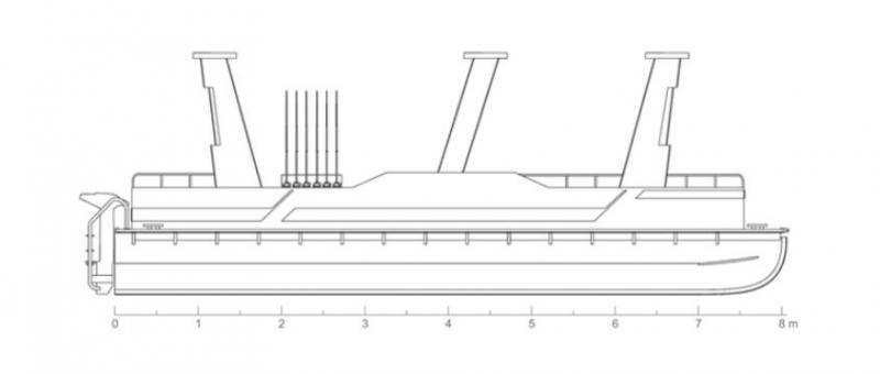 HDPE COMMERCIAL BOAT IZ 810 for Sale