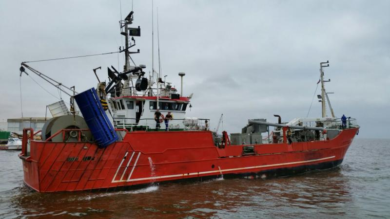 37m Mid Water Trawler 1982 - 6 Holds 50 Tons - 2 Main Trawl Winches For Sale