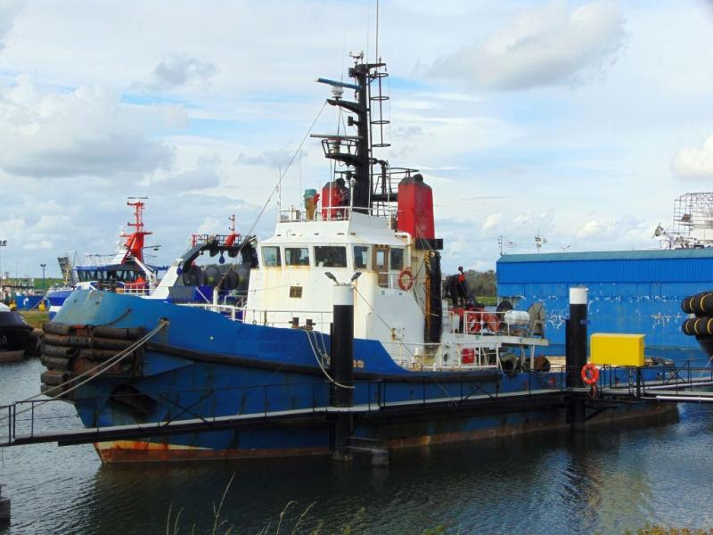 34m Tug Boat 1977 - Upgraded 1998 - Accommodates 13 For Sale