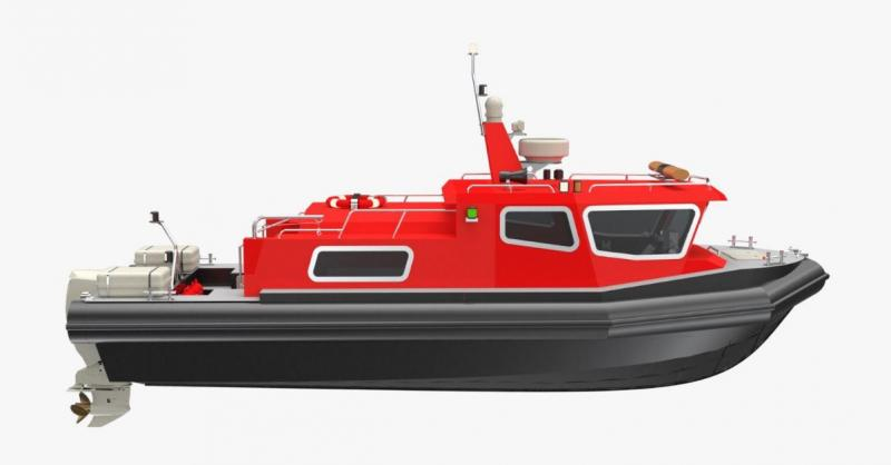 9,05m HDPE Passenger Boat IZ 900 for SALE