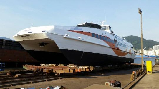 40m Catamaran High Speed Ferry 2004 - 320 PAX - DWT 47 For Sale