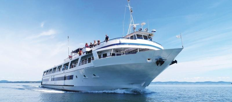 183' Blount Overnight Passenger Cruise Ship For Sale