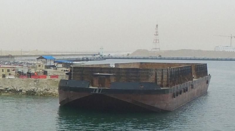82m Bin Wall Deck Barge 2013 - DWT 5500 tons For Sale