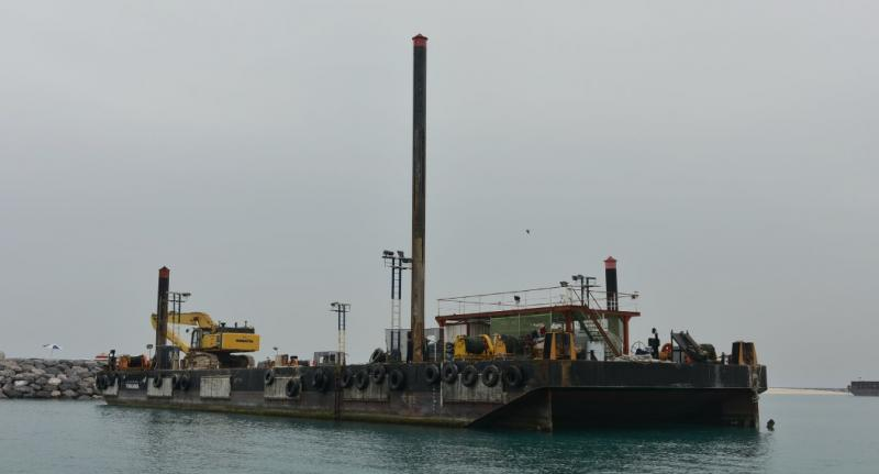 52m Deck Spud Barge 2014 - 4 Spuds - DWT 2406 For Sale